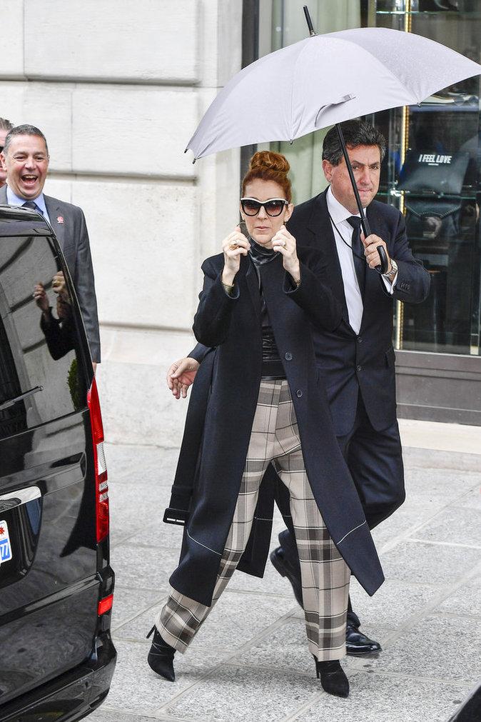 Céline Dion à Paris le 3 juillet 2016