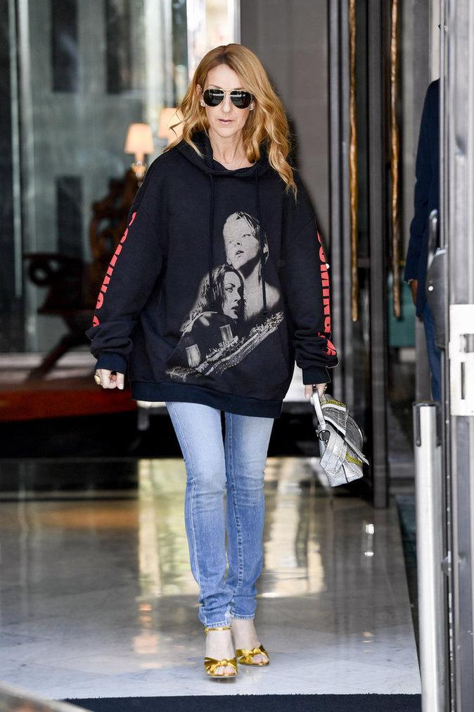 Céline Dion à Paris le 8 juillet 2016