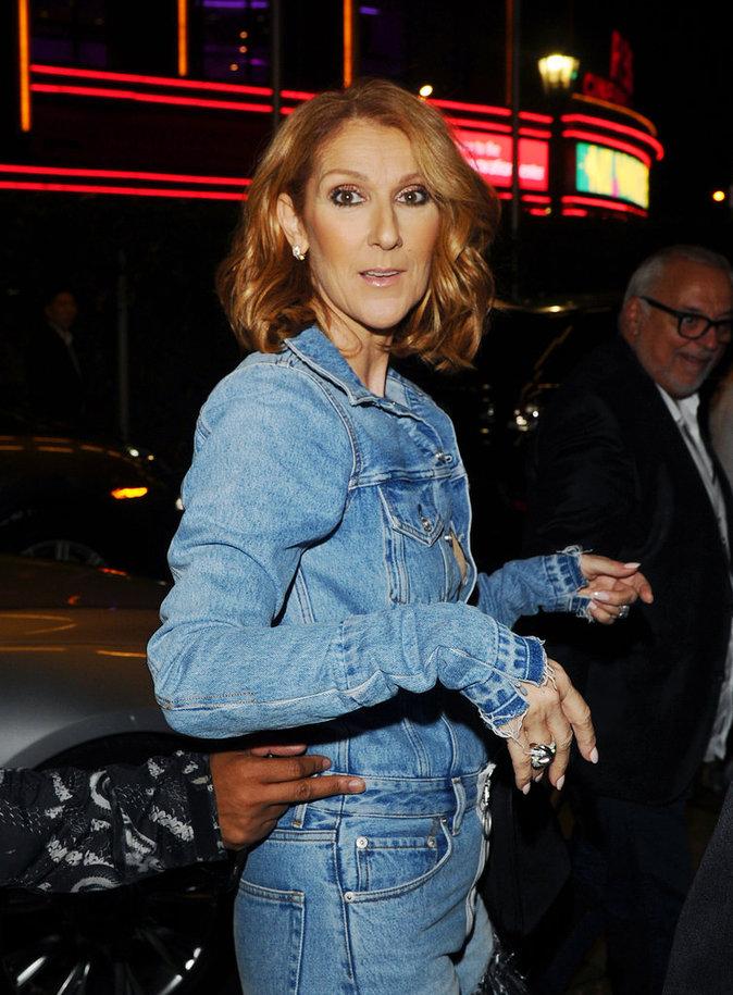 Céline Dion à Los Angeles le 8 septembre 2016