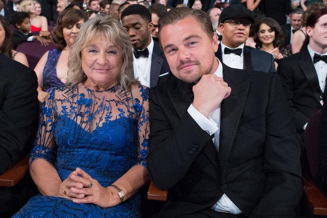 Leonardo DiCaprio et sa mère Irmelin Indenbirken