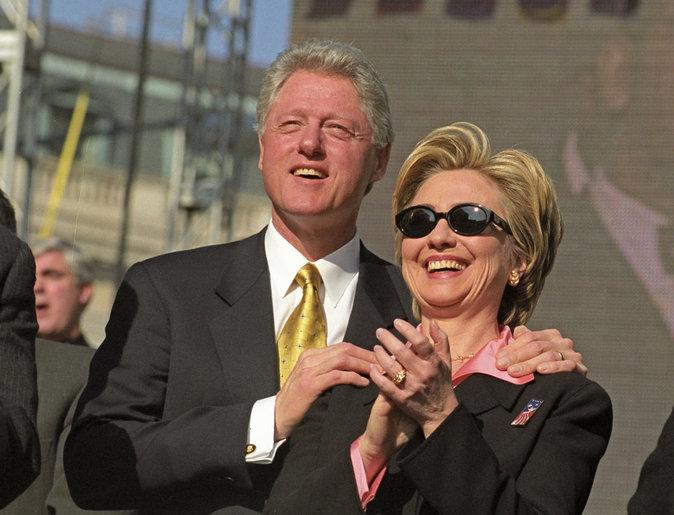 Bill Clinton, Hillary Clinton