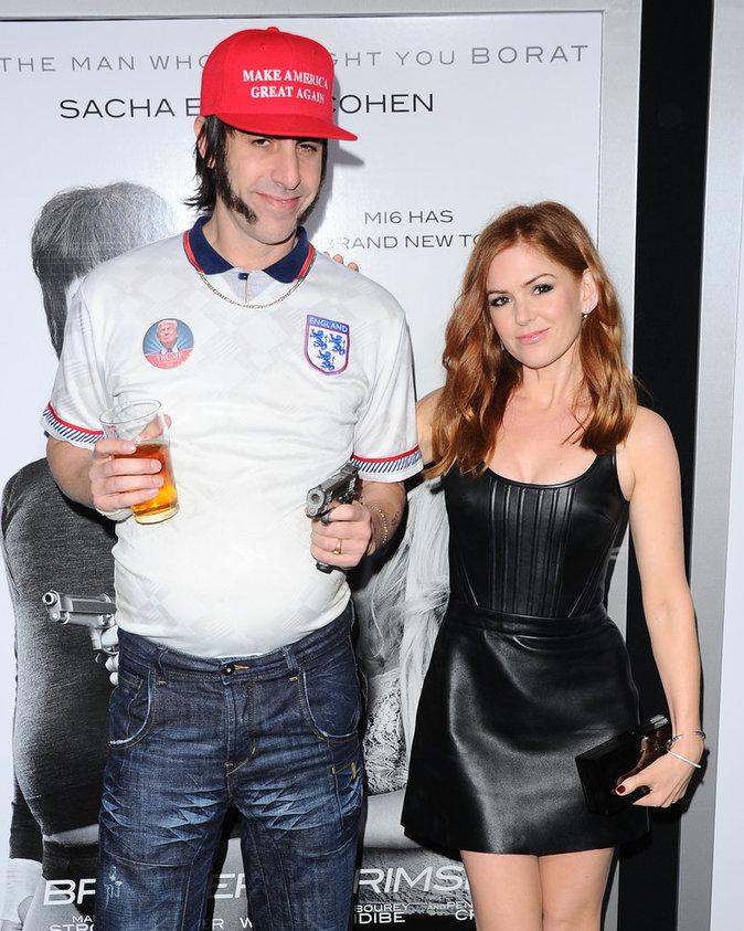 Sacha Baron Cohen, Isla Fisher
