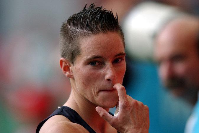 L'athlète Yvonne Bushbaum est devenue...