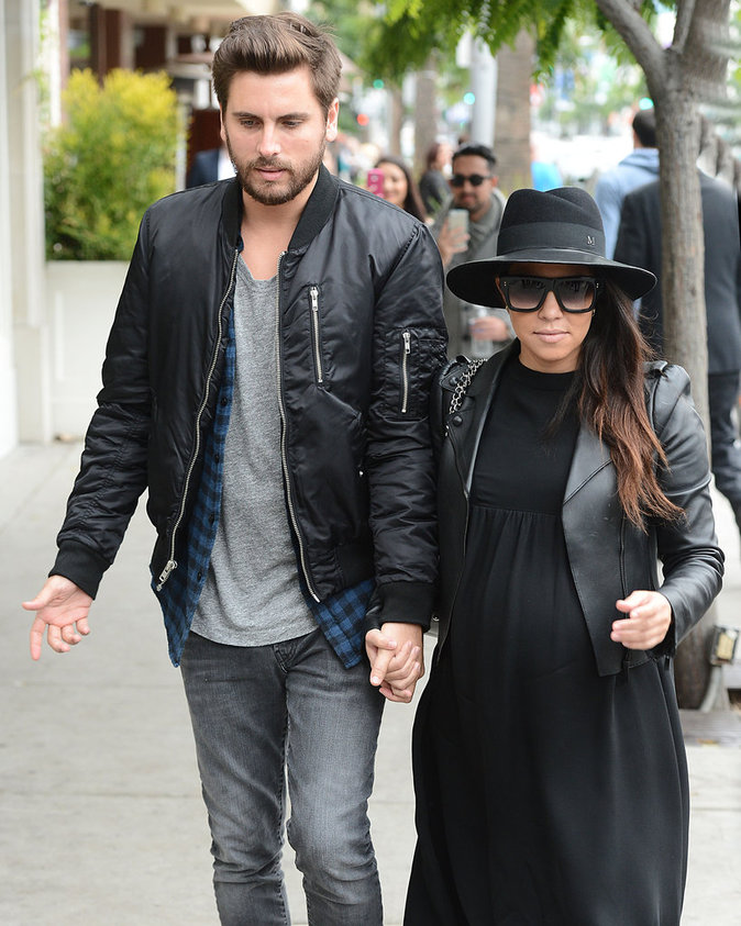 Kourtney Kardashian et Scott Disick