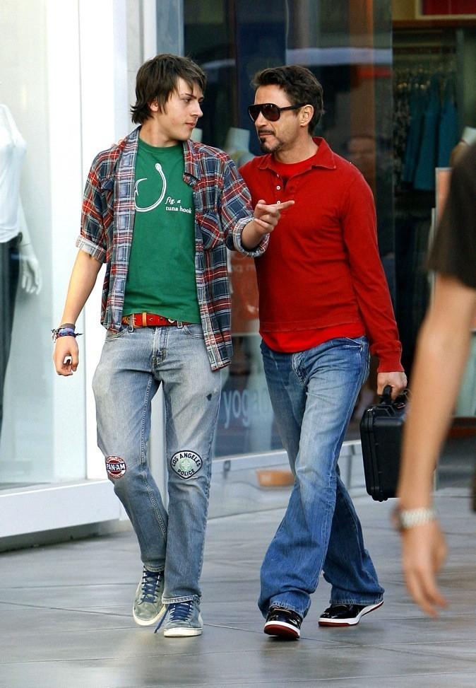 Indio & Robert Downey : pas question d'être aussi connu que papa !