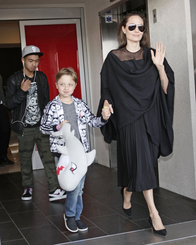 Knox Jolie-Pitt, fils de Brad Pitt et d'Angelina Jolie
