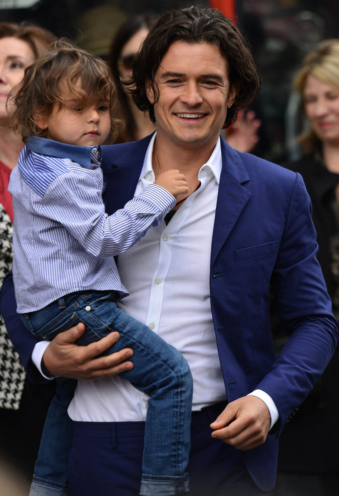 Orlando Bloom et son fils Flynn Bloom