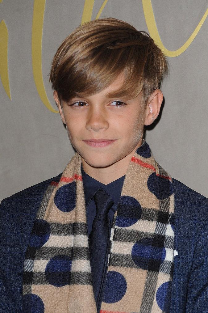 Romeo Beckham, 13 ans