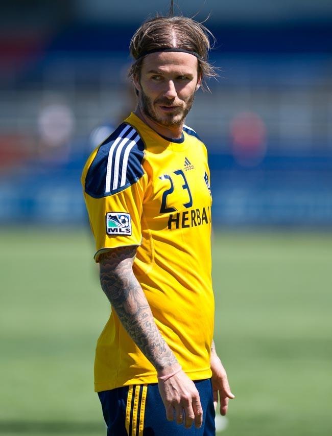 David Beckham a aussi une vraie passion pour les tatouages...