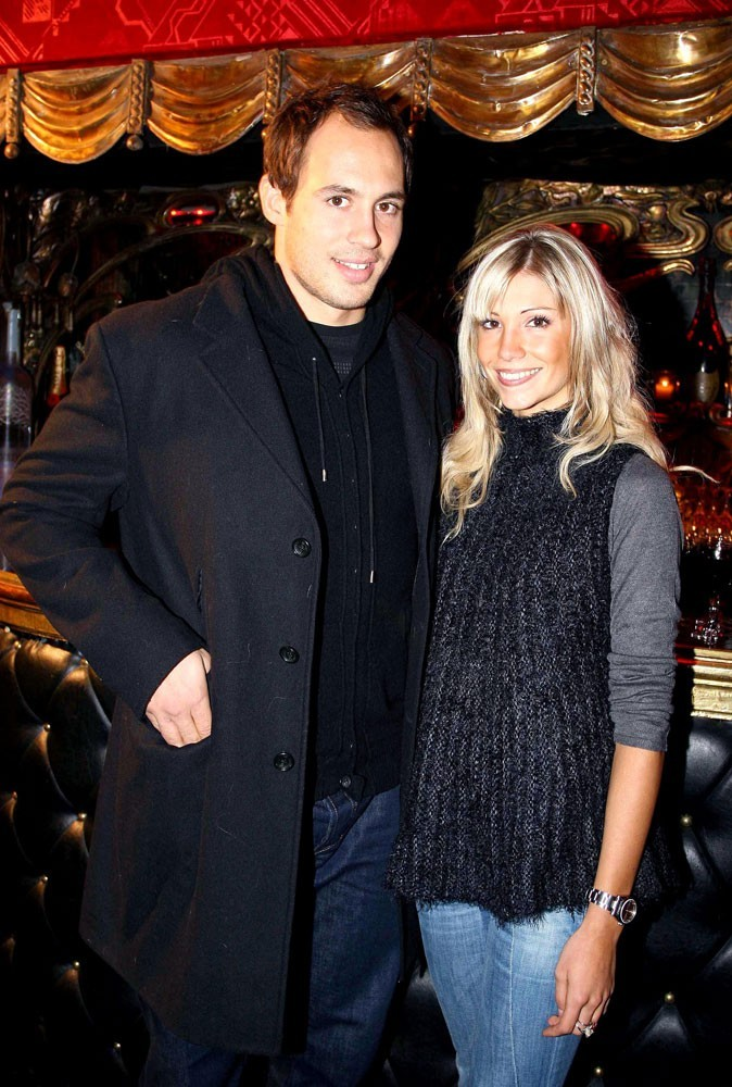 Alexandra Rosenfeld et Sergio Parisse en 2008