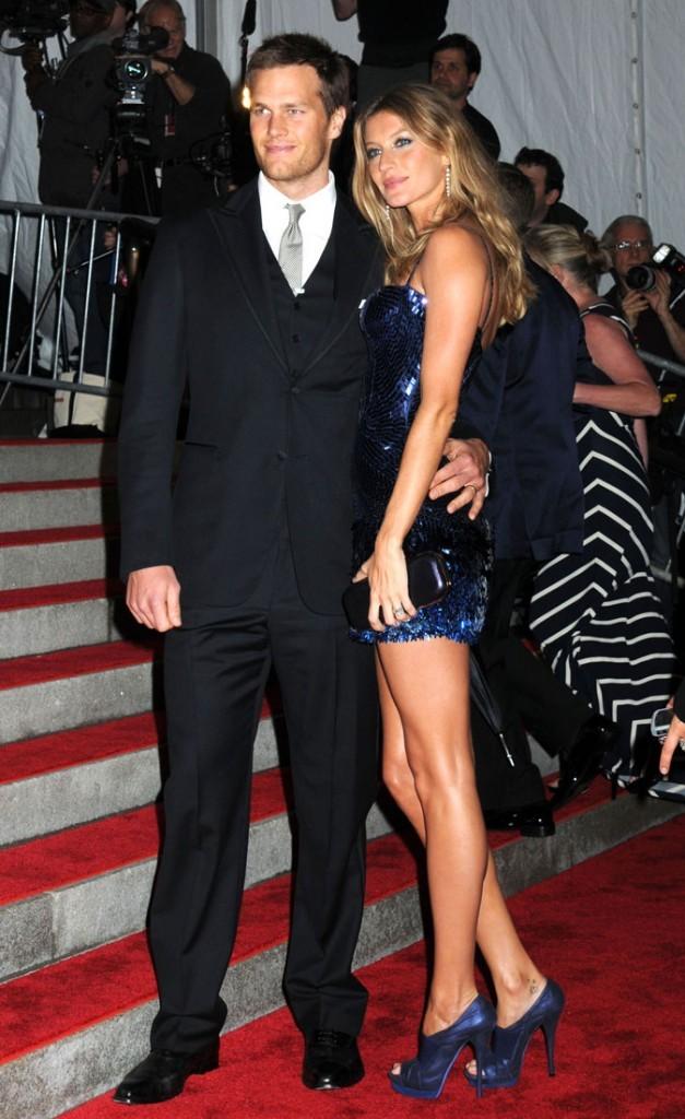 Gisele Bündchen et Tom Brady en 2007
