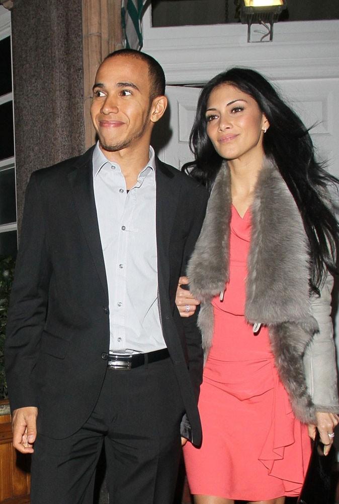 Nicole Scherzinger est en couple avec Lewis Hamilton
