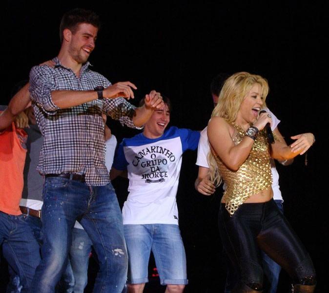 Shakira est en couple avec Gerard Piqué