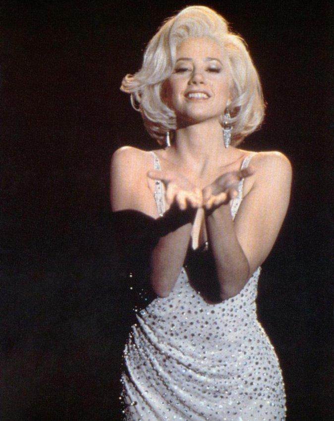 Mira Sorvino en Marilyn Monroe