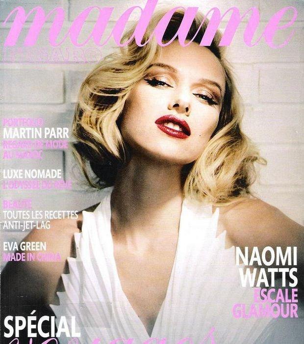 Naomi Watts en Marilyn Monroe