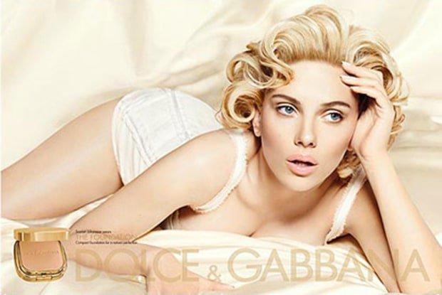 Scarlett Johansson en Marilyn Monroe
