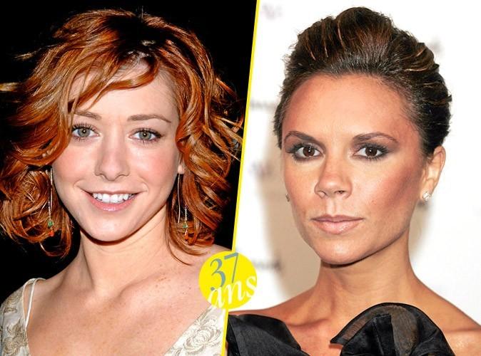 Alyson Hannigan et Victoria Beckham : 37 ans !