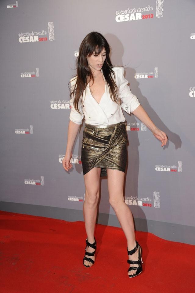 Charlotte Gainsbourg le 22 février 2013 à Paris