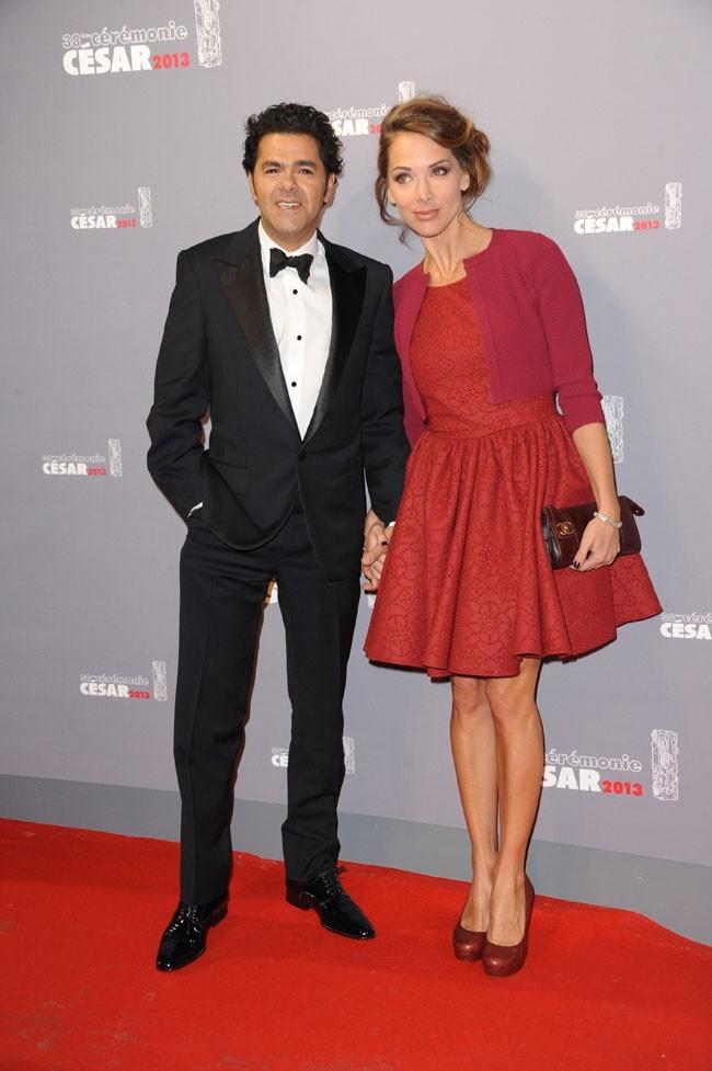 Jamel Debbouze et Mélissa Theuriau le 22 février à Paris