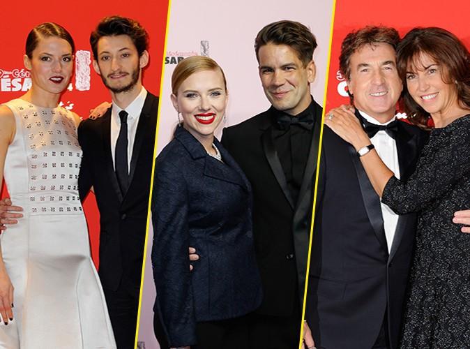 Photos : César 2014 : Pierre Niney, Scarlett Johansson, François Cluzet : l'amour au grand jour !