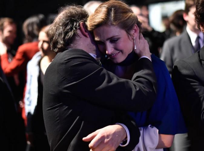 César 2015 : Julie Gayet : elle partage une grande complicité avec Denis Podalydes !