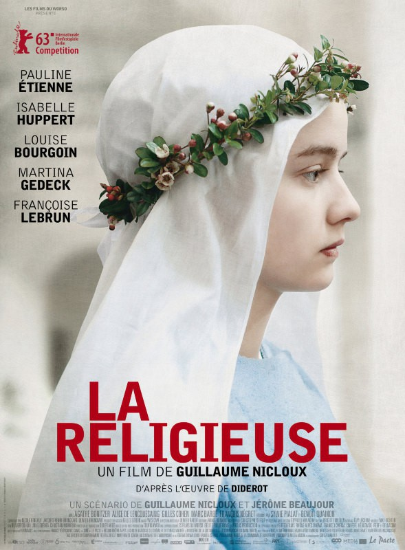 """Pauline Etienne nominée """"meilleur espoir féminin"""" pour La Religieuse"""
