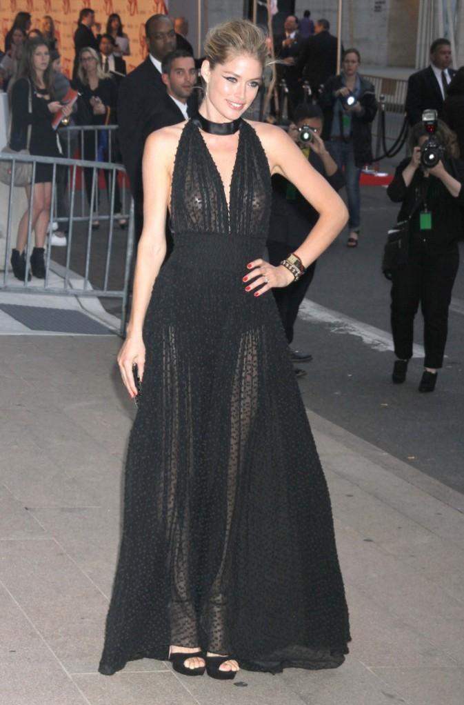 Doutzen Kroes lors des CFDA Fashion Awards à New York, le 4 juin 2012.