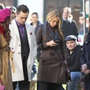 Blake Lively sur le tournage de Gossip Girl à New-York le 1 er octobre 2012