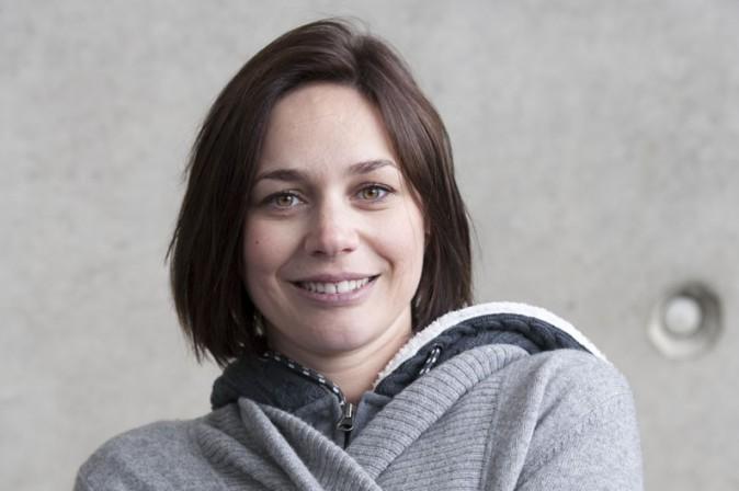 Nathalie Péchalat au Stade de France le 20 mai 2015