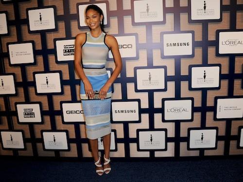 Chanel Iman lors de la cérémonie des Black Women in Hollywood, le 19 février 2015 !