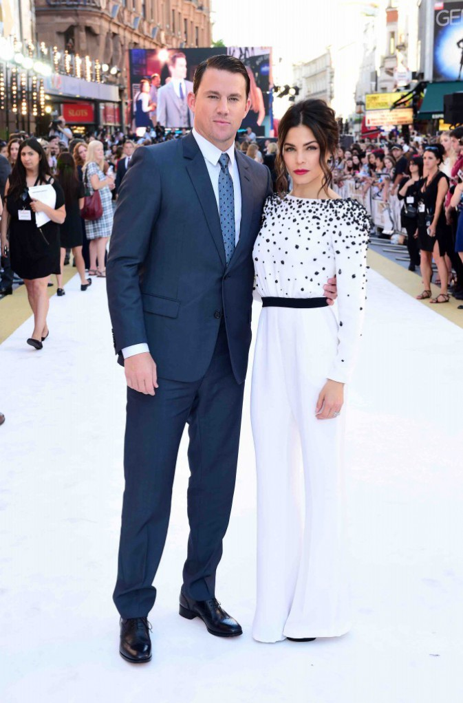 Channing Tatum et Jenna Dewan : Couple glamour et chic pour Magic Mike XXL !