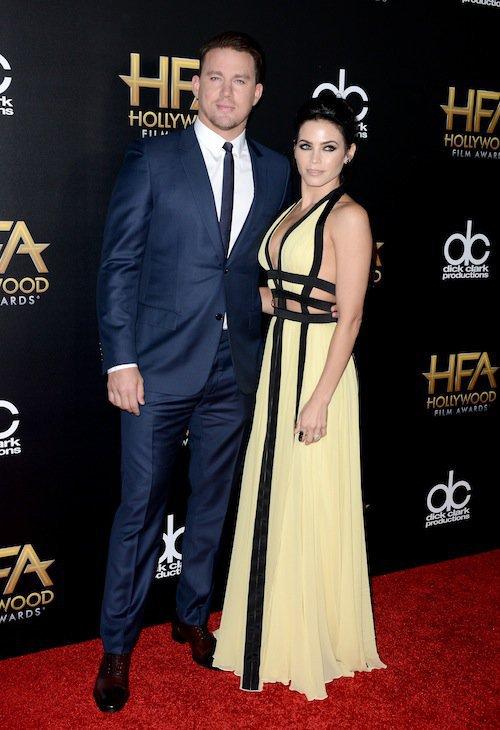 Photos : Channing Tatum et Jenna Dewan envoûtants sur red carpet !