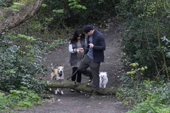 Jenna Dewan, Channing Tatum et leurs chiens