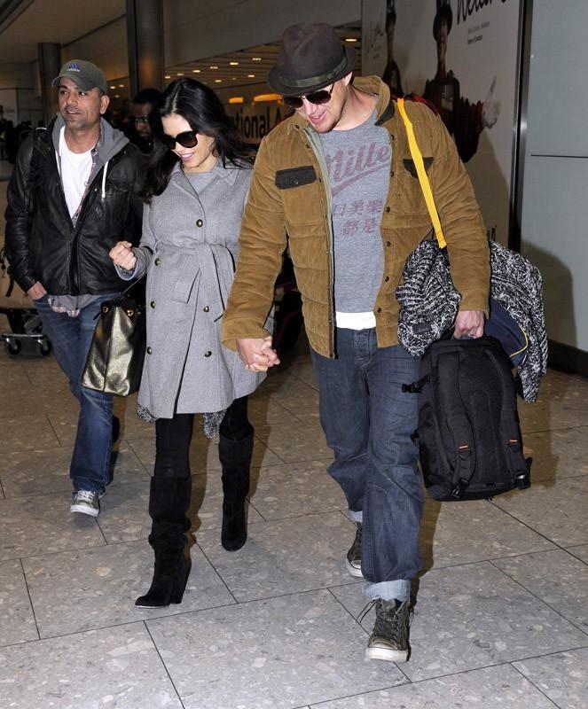 Channing Tatum et Jenna Dewan arrivent à Londres pour les BAFTA awards !