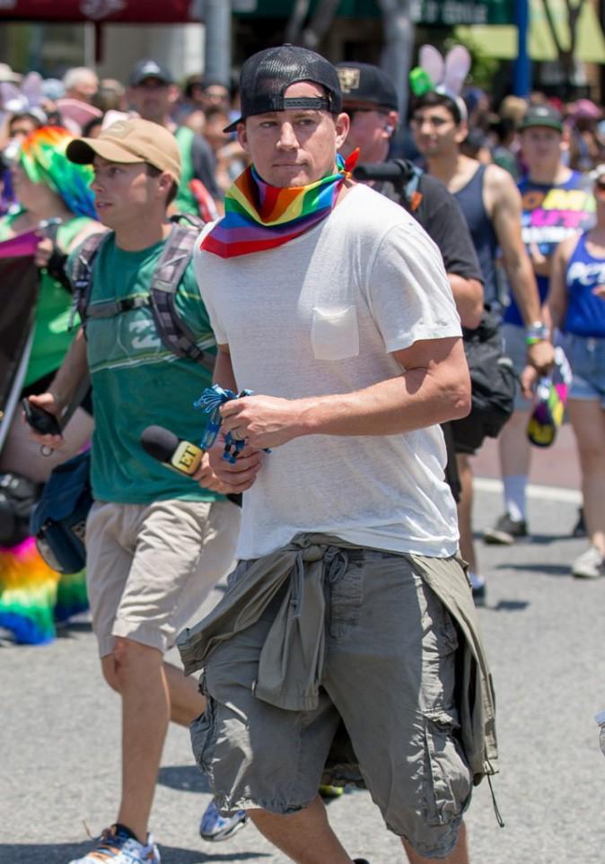 Channing Tatum le 14 juin 2015