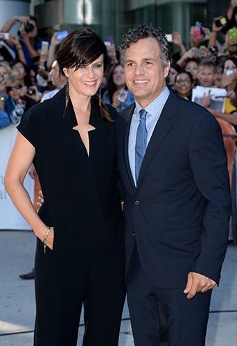 Mark Ruffalo et sa femme Sunrise à Toronto le 8 septembre 2014