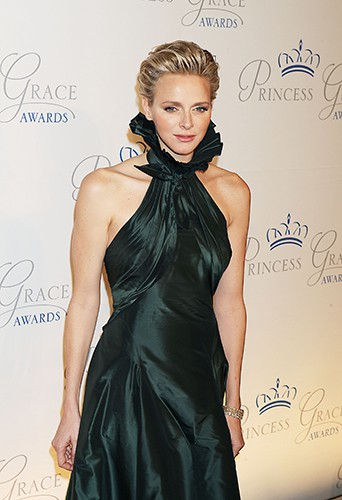 Charlene de Monaco au gala des Princess Grace Awards 2013 à New-York le 30 octobre