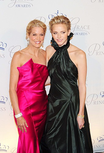 Paula Zahn et Charlene de Monaco au gala des Princess Grace Awards 2013 à New-York le 30 octobre