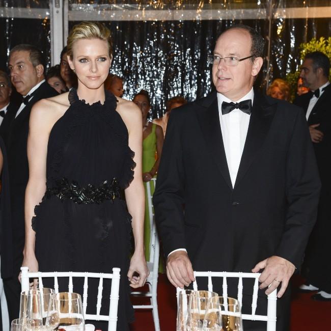 Charlene et Albert de Monaco le 10 octobre 2012 à Florence