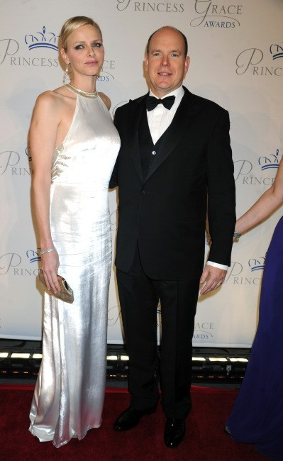 Charlene et Albert de Monaco le 22 octobre 2012 à New York