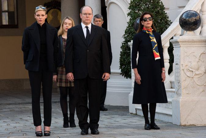 Photos : Charlène et Albert, unis pour rendre hommage à la France