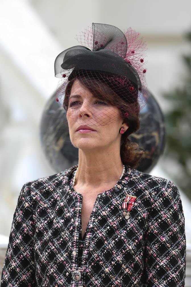 Caroline de Monaco célèbre la fête nationale monégasque le 18 novembre 2012