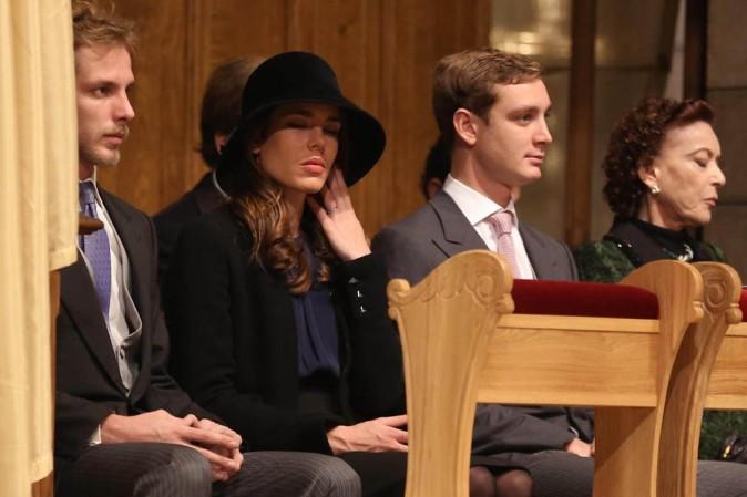 Charlotte Casiraghi célèbrent la fête nationale monégasque le 18 novembre 2012