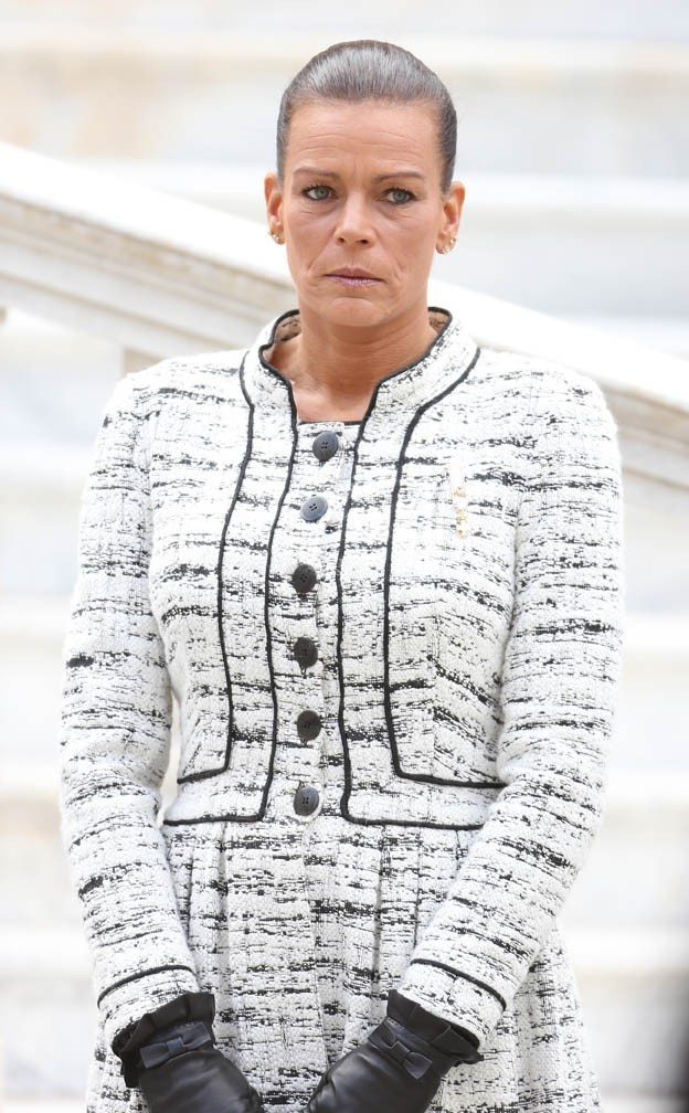Stéphanie de Monaco célèbre la fête nationale monégasque le 18 novembre 2012