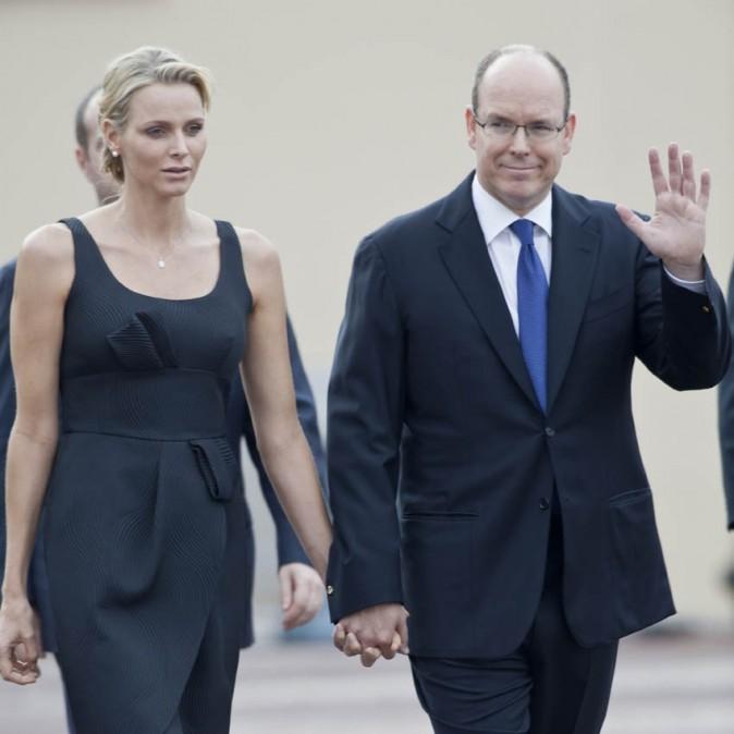 Charlène Wittstock et Albert de Monaco, parfaitement assortis pour la Fête-Dieu !