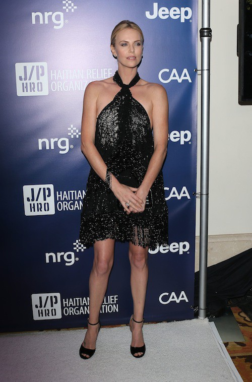 Photos : Charlize Theron : enceinte de Sean Penn ?