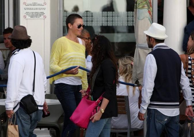 Charlize Theron à Cape Town, en Afrique du Sud, le 16 novembre 2012