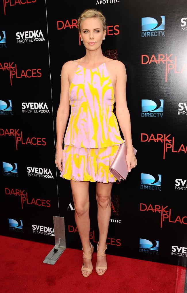 Charlize Theron à l'avant-première de Dark Places organisée à Hollywood le 21 juillet 2015