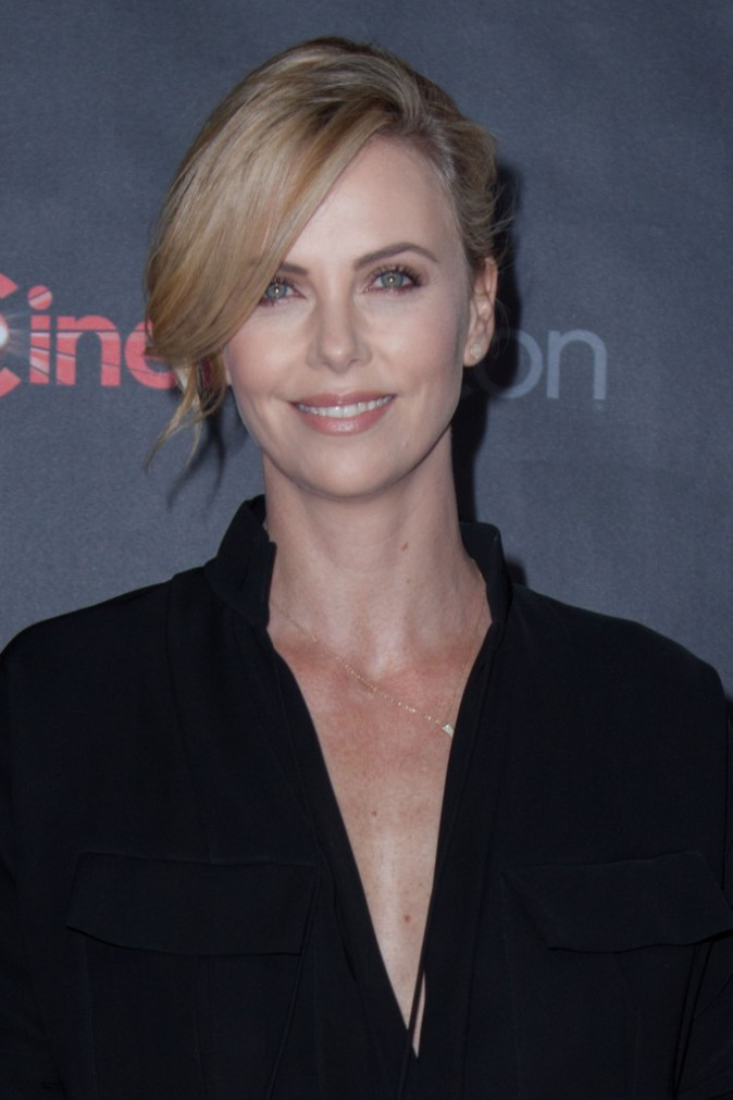 Charlize Theron le 21 avril 2015