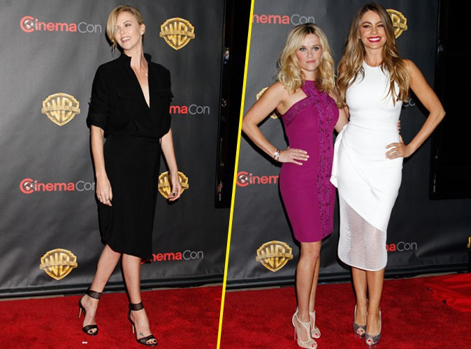 Charlize Theron, Reese Witherspoon et Sofia Vergara : les actrices s'imposent sur le redcarpet !